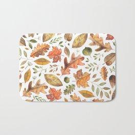 Autumn/Fall Leaves Bath Mat