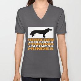 Dog Owner Gift Unisex V-Neck