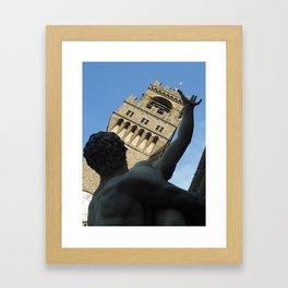 Statues of Italy  Framed Art Print
