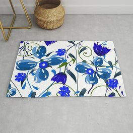 Floral pattern,illustration Rug