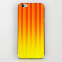 Gradient Stripes Pattern ry iPhone Skin