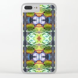 Suculent Fractal  Clear iPhone Case