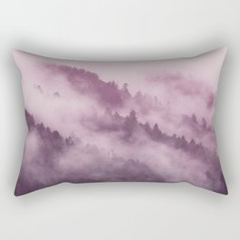 Purple Haze in the Smokey Mountains Rectangular Pillow