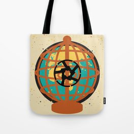 World imprisoned in the chaos of himself Tote Bag