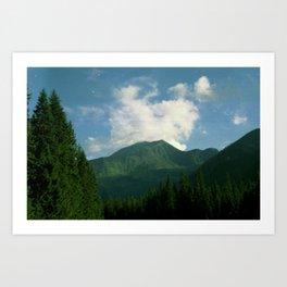 Tatry mountains Art Print