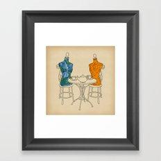 High Tea Framed Art Print