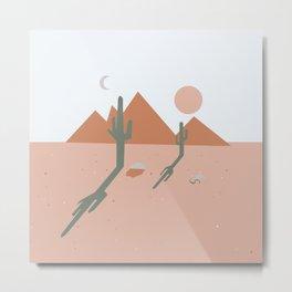 High Desert Shadows Metal Print