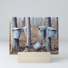 Maple Sugaring Mini Art Print