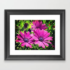 Flower Power 6 Framed Art Print