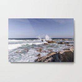 Waves on the backshore #2 Metal Print