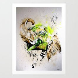 shift Art Print