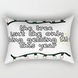 Getting Lit Rectangular Pillow