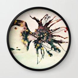 Earthy Medusa Roots Wall Clock