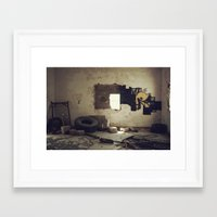 misfits Framed Art Prints featuring Misfits by nonbeliever_