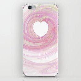 Valentine's Fractal IV - Light iPhone Skin