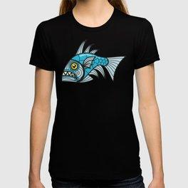 Escher Fish pattern I T-shirt