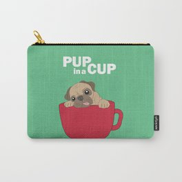 Pup in a Cup Carry-All Pouch