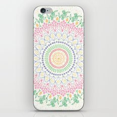Plant Line Art 5 iPhone & iPod Skin