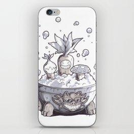 Sauna Shrubs iPhone Skin
