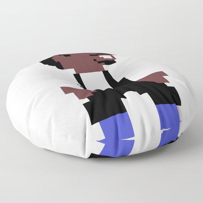 Chance the 8-bit Floor Pillow