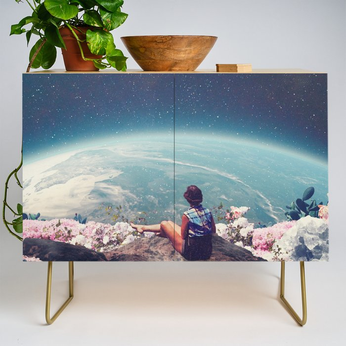 My World Blossomed when I Loved You Credenza