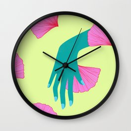 tired of indecision Wall Clock