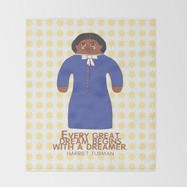 Harriet Tubman Throw Blanket
