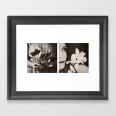 Bloom again Framed Art Print