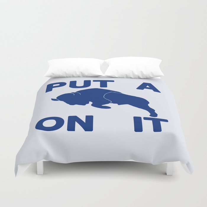 Put a Buffalo On It Duvet Cover