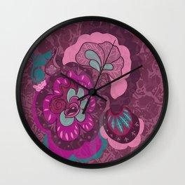 mushroom pattie Wall Clock