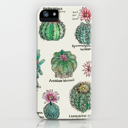 Cactus Dictionaly page1 iPhone Case