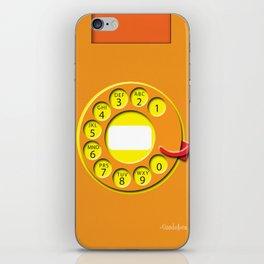Rotary Cellphone Skin iPhone Skin