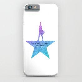 Fantasy Glitter hamilton musical iPhone Case
