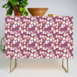 Alice in Wonderland - Purple Madness Credenza
