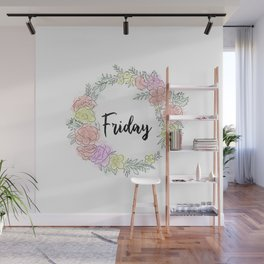 Friday fresh collection 2 Wall Mural