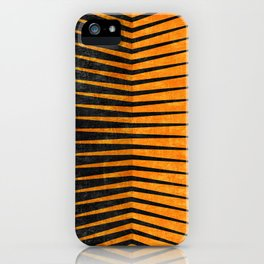 Yellow / Black - Geometric iPhone Case
