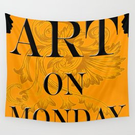 ART ON MONDAY Wall Tapestry