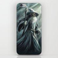 gandalf iPhone & iPod Skins featuring Gandalf by Svenja Gosen