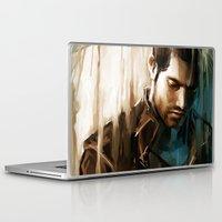 derek hale Laptop & iPad Skins featuring Derek Hale * Tyler Hoechlin  by AkiMao