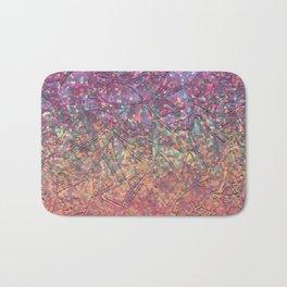 Sparkley Grunge Relief Background G179 Bath Mat