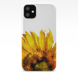 Simply a sunflower  iPhone Case