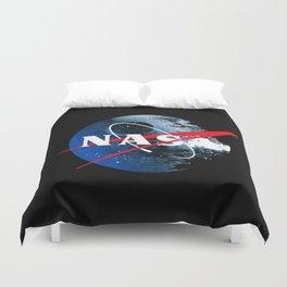 The Second NASA Death Star Duvet Cover