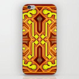 Mandala with edges ... iPhone Skin
