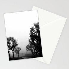 Morning fog. Stationery Cards