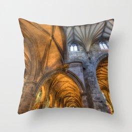 St Giles Cathedral Edinburgh Throw Pillow