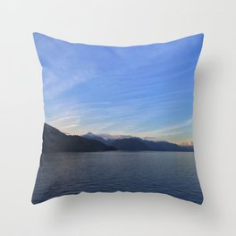Ocean Calm I Throw Pillow