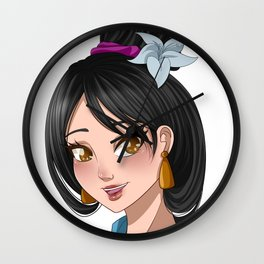 [Mulan] Bride Wall Clock
