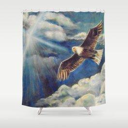 Renewed Strength Shower Curtain