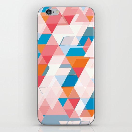 Crumbling triangles iPhone & iPod Skin