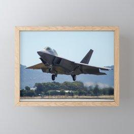 F-22A Raptor Framed Mini Art Print
